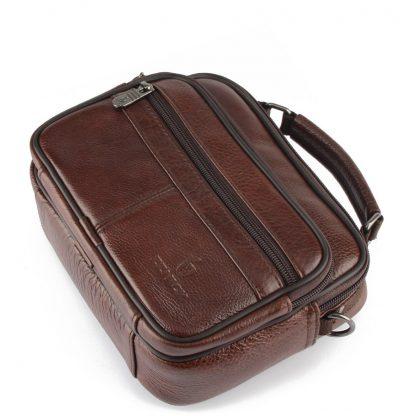 ZZNICK 2018 Genuine Cowhide Leather Shoulder Bag Small Messenger Bags Men Travel Crossbody Bag Handbags New Fashion Men Bag Flap 4