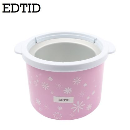 EDTID Electric Mini Ice Cream Machine 1.5L Household Automatic DIY Soft Frozen Fruit Dessert Icecream Maker Milkshake Freezer EU 4