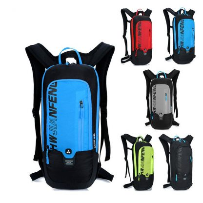 Outdoor Running Cycling Backpack 2L Bladder Water Bag Sports Camping Hiking Hydration Backpack Riding Camelback Bag + Water bag 1