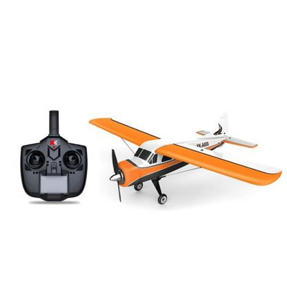 2018 New XK DHC-2 DHC2 A600 5CH 3D 6G System Brushless Motor RC Airplane Compatible for Futaba RTF Mode 1/2 Rolling 4