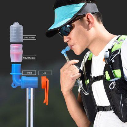 AONIJIE SD17 1.5L 2.5L Soft Reservoir Water Bladder Hydration Pack Water Storage Bag BPA Free Running Hydration Vest Backpack 2