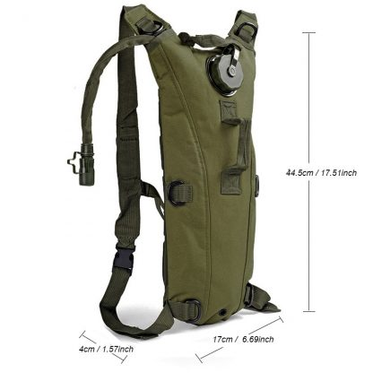 3L Water Bag Bladder Bottle Pouch,Tactical Hydration Backpack Packs,Men Women Running Cycling Camping Camelback 8 Colors 2
