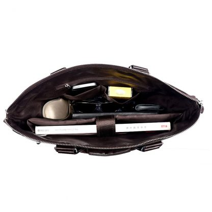 VORMOR 2019 Men Casual Briefcase Business Shoulder Bag Leather Messenger Bags Computer Laptop Handbag Bag Men's Travel Bags 5