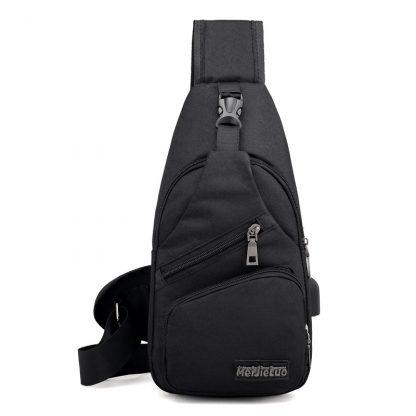 Male Shoulder Bags USB Charging Crossbody Bags Men Anti Theft Chest Bag School Summer Short Trip Messengers Bag 2019 New Arrival 3