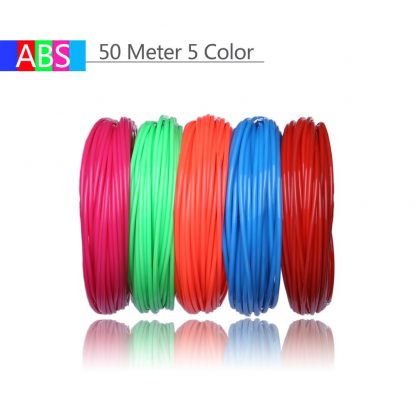 Use For 3D Printing Pen 200 Meters 20 Colors 1.75MM ABS Filament Threads Plastic 3 d Printer Materials For Kid Drawing Toys 3