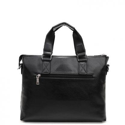 VORMOR 2019 Men Casual Briefcase Business Shoulder Bag Leather Messenger Bags Computer Laptop Handbag Bag Men's Travel Bags 3