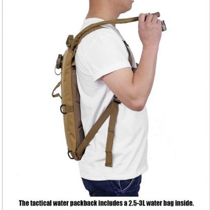 New 2.5L Running Water bag backpack Outdoor riding backpack small waterproof hiking sports bag Unisex Sports shoulder water bag 5