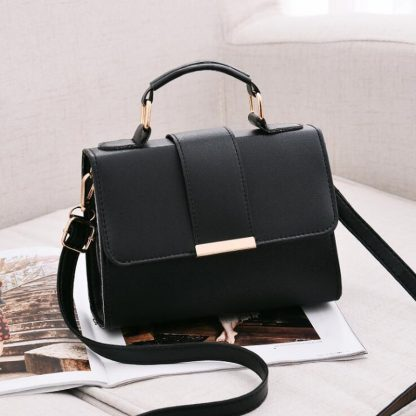 REPRCLA 2018 Summer Fashion Women Bag Leather Handbags PU Shoulder Bag Small Flap Crossbody Bags for Women Messenger Bags 2