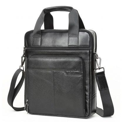 MEIGARDASS Genuine Leather Business Men Briefcase Men's Handbags Office Laptop Bag Male Casual Shoulder Computer Messenger Bags 3