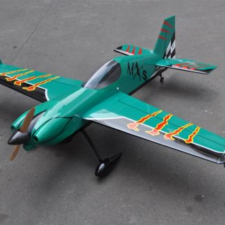 MXS-R 20cc 3D Balsa Wood Fixed Wing RC Airplane Model Aircraft 64