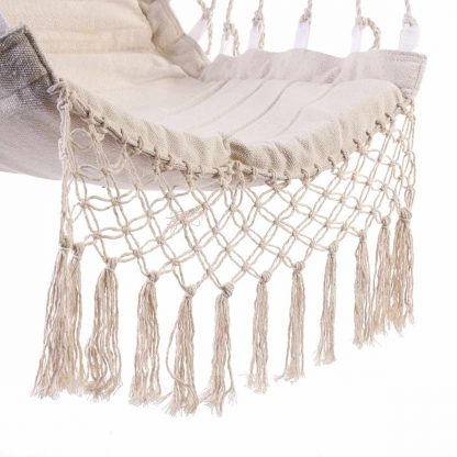 Nordic Style Hammock Outdoor Indoor Furniture Swing Hanging Chair for Children Adult Garden Dormitory Single Safety Chair 5