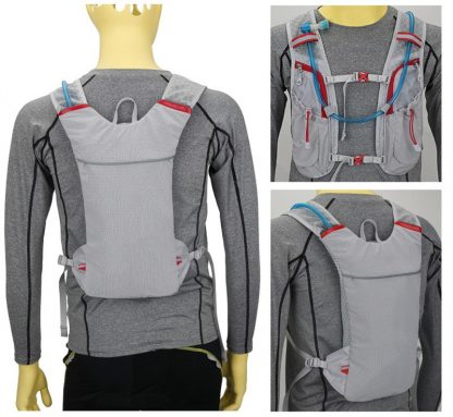 New Marathon Water Bag Polyester Hydration Backpack Off-road Run Jogging Vest Style Outdoor Sports Cycling Racing 3 Color 4