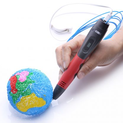 2018 New Arrival Blue 3D Printing Pen With PLA Plastic Refill 3 D Printer Drawing Pens DIY Perfect Gift for Kids & Adults 5