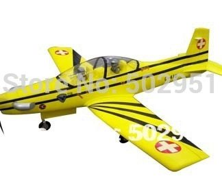 PC-9  6 CH 2.4GHz Radio Remote Control Electric RC Airplane PNP and KIT,PC9,PC 9