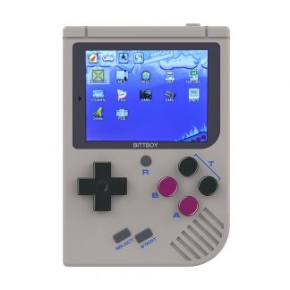 Video Game Console New BittBoy - Version2 - Retro Game Handheld Games Console Player Progress Save/Load MicroSD card External
