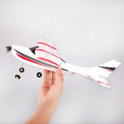 Wltoys F949 CESSNA-182 3 Channel 2.4G Control Airplane RC Airplane EPP Model Plane RTF 3 Coreless Motor Outdoor Drone Kids FSWB 1
