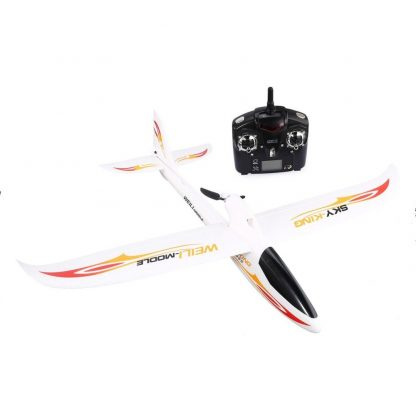WLtoys F959 RC Airplane Fixed Wing 2.4G Radio Control 3 Channel RTF SKY-King Aircraft with Foldable Propeller Kids RC Drone Toy 1