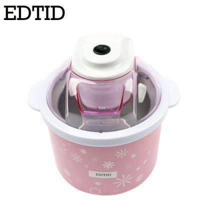 EDTID Electric Mini Ice Cream Machine 1.5L Household Automatic DIY Soft Frozen Fruit Dessert Icecream Maker Milkshake Freezer EU 5