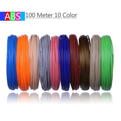 Use For 3D Printing Pen 200 Meters 20 Colors 1.75MM ABS Filament Threads Plastic 3 d Printer Materials For Kid Drawing Toys 2