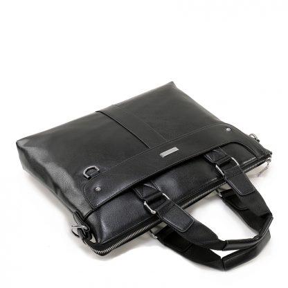 VORMOR 2019 Men Casual Briefcase Business Shoulder Bag Leather Messenger Bags Computer Laptop Handbag Bag Men's Travel Bags 4