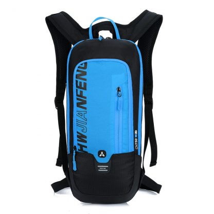 Outdoor Running Cycling Backpack 2L Bladder Water Bag Sports Camping Hiking Hydration Backpack Riding Camelback Bag + Water bag 2