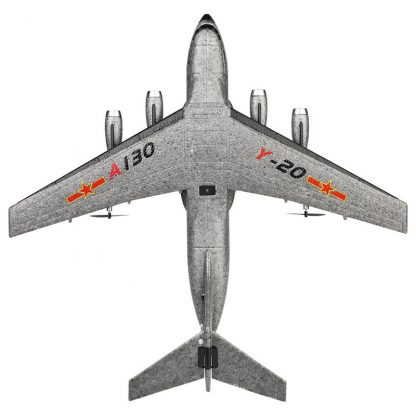 XK A130-Y20 RC Airplane 2.4G 3CH 500mm Wingspan EPP RTF Built-in Gyro Model Flying Outdoor Toys  Fixed Wing Aircraft 5