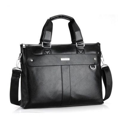 VORMOR 2019 Men Casual Briefcase Business Shoulder Bag Leather Messenger Bags Computer Laptop Handbag Bag Men's Travel Bags 1