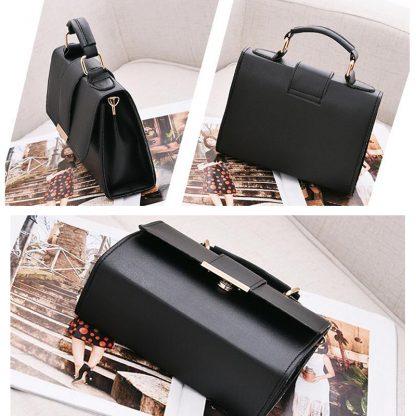 REPRCLA 2018 Summer Fashion Women Bag Leather Handbags PU Shoulder Bag Small Flap Crossbody Bags for Women Messenger Bags 5