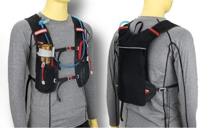 New Marathon Water Bag Polyester Hydration Backpack Off-road Run Jogging Vest Style Outdoor Sports Cycling Racing 3 Color 2