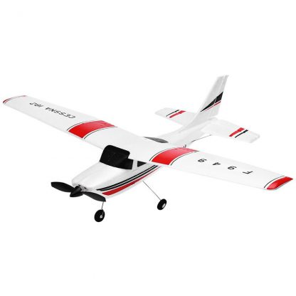 Wltoys F949 CESSNA-182 3 Channel 2.4G Control Airplane RC Airplane EPP Model Plane RTF 3 Coreless Motor Outdoor Drone Kids  FSWB 3