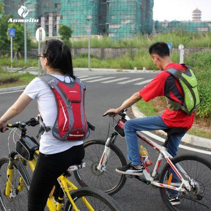ANMEILU 2L Water Bags 5L Cycling Backpack Men Women Waterproof Outdoor Sports Bag Hydration Climbing Running Baddler 5