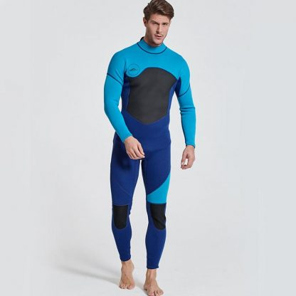 Sbart New One-Piece Neoprene 3mm Diving Suit Winter Long Sleeve Men Wetsuit Prevent Jellyfish Snorkeling Suit Free Shipping S753 3