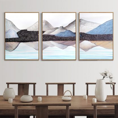 3 Piece Canvas painting Modern Abstract Art Home Decor Oil painting Wall Art Picture Canvas Prints Poster Living Room Decoration 2
