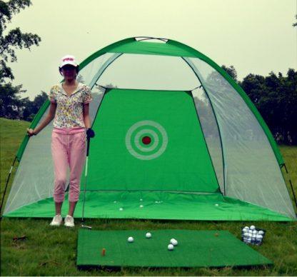300cm*200cm*180cm Golf Training Target net Indoor Outdoor Foldable Golf Hitting Cage Garden Practice Golf Equipment B81704 2