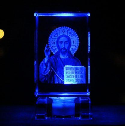 Emmanuel Immanuel Catholic Church Christmas Christening & Baptism Easter Halloween Jesus Christ 3D crystal art sculpture statue 2