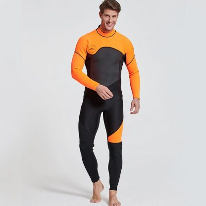 Sbart New One-Piece Neoprene 3mm Diving Suit Winter Long Sleeve Men Wetsuit Prevent Jellyfish Snorkeling Suit Free Shipping S753 4
