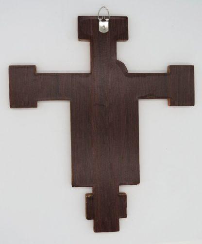 Catholic Resin Jesus Christ on INRI Cross Wall Crucifix Home Chapel Decoration 14.5 Inches  1