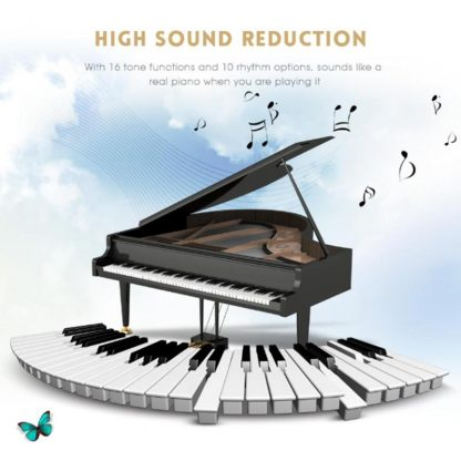 Portable Flexible Digital Keyboard Piano 49 Keys Flexible Silicone Electronic Roll Up Piano Children Toys Built-in Speaker 5