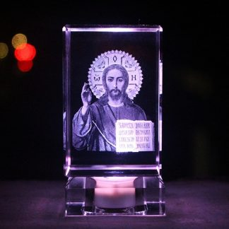 Emmanuel Immanuel Catholic Church Christmas Christening & Baptism Easter Halloween Jesus Christ 3D crystal art sculpture statue