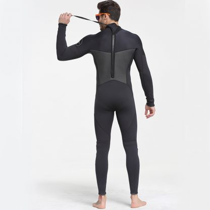 Sbart New One-Piece Neoprene 3mm Diving Suit Winter Long Sleeve Men Wetsuit Prevent Jellyfish Snorkeling Suit Free Shipping S753 2