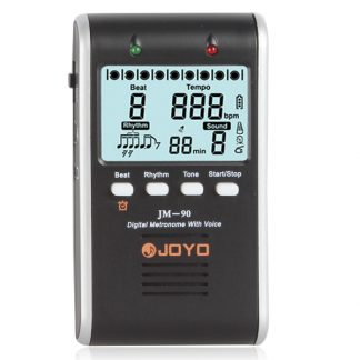 JOYO JM-90 LCD Screen Digital Metronome Metro with Voice Countdown function Professional Musical Instrument Parts Accessories