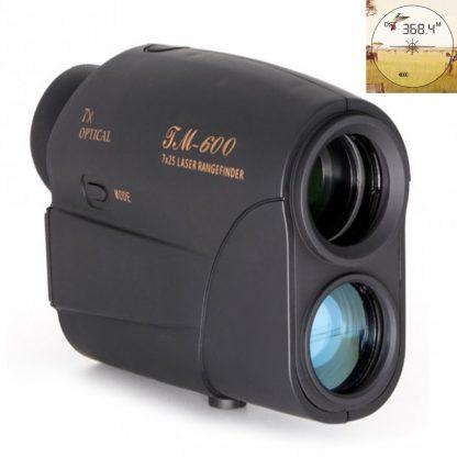 600m  laser Distance Meter 7X25 laser Rangefinder Golf Rangefinder Hunting Rangefinder Telescope Speed measure tester