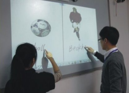 Perfect item!10 points electronic interact board finger write digital whiteboard for smart class interactive teaching in schools 3