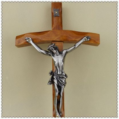 Catholic Christian Activities Cross Crucifix 30*16cm Relics Exquisite Teak Rood Jesus Cross Figure Jesu lamb of god figures 2