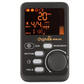 WSM-240 Metronome Metro-tuner Rhythm Device Portable Drum Universal Electronic Stand tuner Musical Instrument Accessories