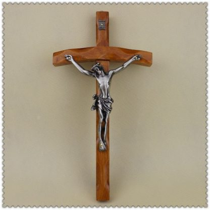 Catholic Christian Activities Cross Crucifix 30*16cm Relics Exquisite Teak Rood Jesus Cross Figure Jesu lamb of god figures
