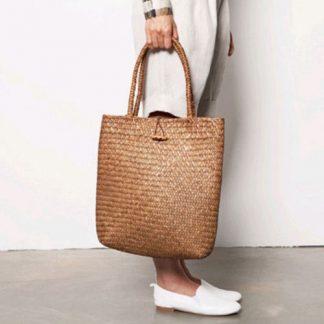 Fashion Womens Summer Straw Large Tote Bag Crossbody Beach Shoulder Bag Handbag