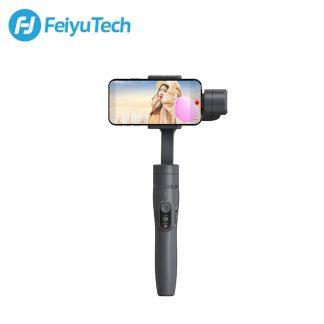 페이유 짐벌 스태빌라이저 스마트폰 유튜브 개인방송용 3축 짐발 디지털FeiyuTech Vimble 2 Feiyu 3-Axis Handheld Gimbal Smartphone Stabilizer Extendable Pole Tripod for iPhone X 8 XIAOMI Samsung