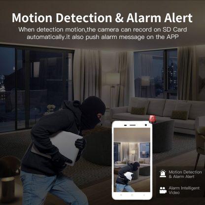 홈 가정용 무선 와이파이 CCTV SDETER Wireless Security Camera IP Camera WIFI Home CCTV Camera 1080P 720P Audio Surveillance P2P Night Vision Baby Monitor Cam 1