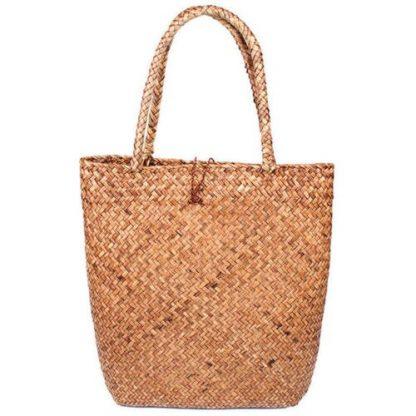 Fashion Womens Summer Straw Large Tote Bag Crossbody Beach Shoulder Bag Handbag 4